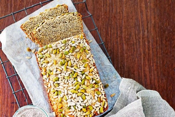 They're applauded for their health benefits, but nuts, seeds and grains also add a nutty flavour and crunchy texture. Try this lovely gluten free bread.
