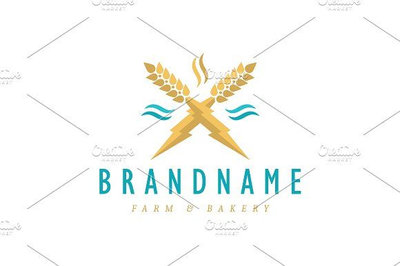 For sale. Only $29 - energy, wave, water, natural, cross, power, magic, element, force, barley, lightning, bolt, grain, crop, wheat, thunder, rye, scent, harvest, bakery, organic, blue, golden, farm, brewery, restaurant, food, distillery, agriculture, biomass, storm, swift, inspiration, logo, design, template,