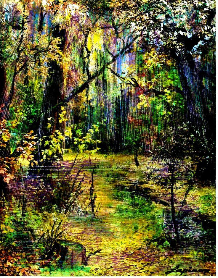 Marian Lupu LUPINO - mixt painting