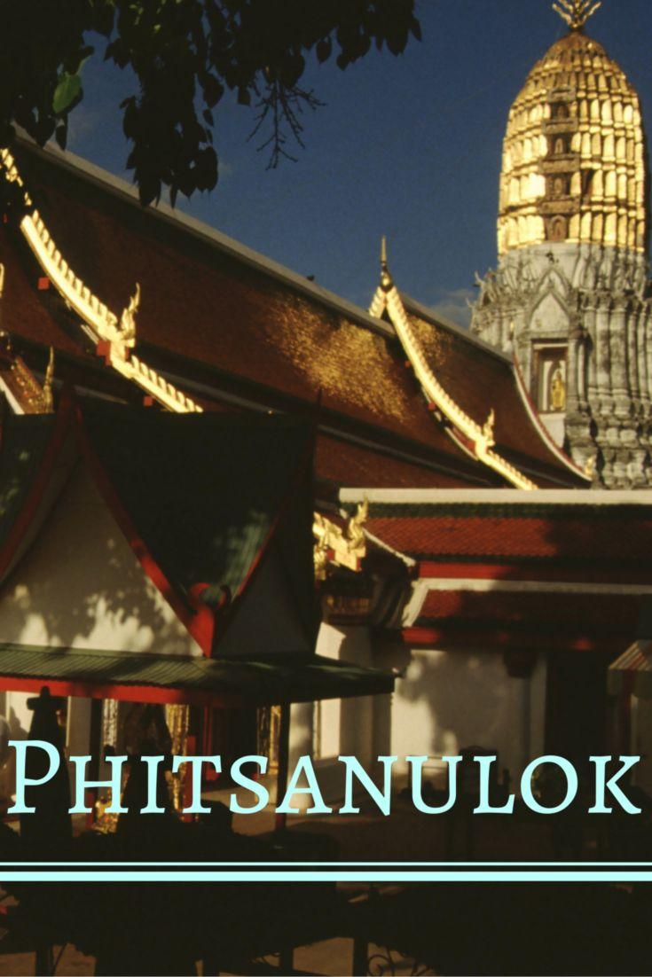 Een treinreis van ruim een halve dag brengt me in de provinciestad Phitsanulok, waar ik tijdens mijn oponthoud een bezoek breng aan een fonkelende Boeddha.