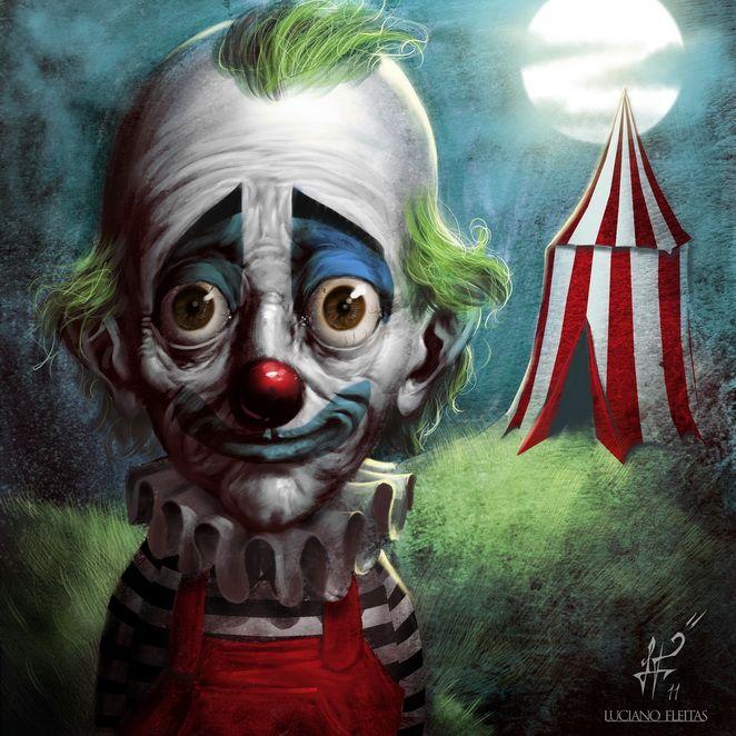 sad clown payaso triste clowns pinterest