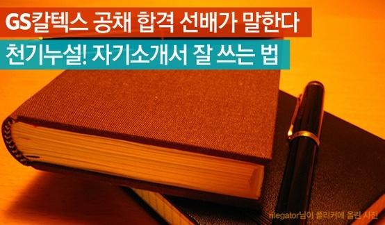 GS칼텍스 공채 합격 선배가 말한다. 자기소개서 잘 쓰는 비법 http://www.insightofgscaltex.com/?p=16968