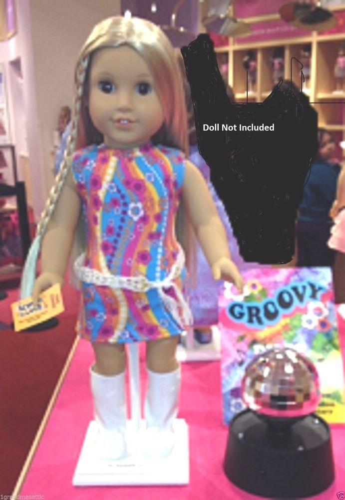 American Girl Julie/'s Dance Set LE NIB Mirrored Disco Ball School NO DOLL LE