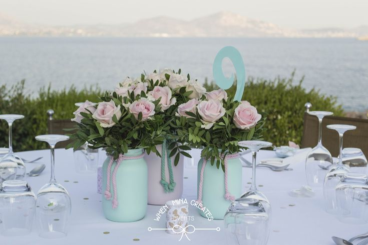 christening table decoration / διακόσμηση τραπεζιού βάπτισης
