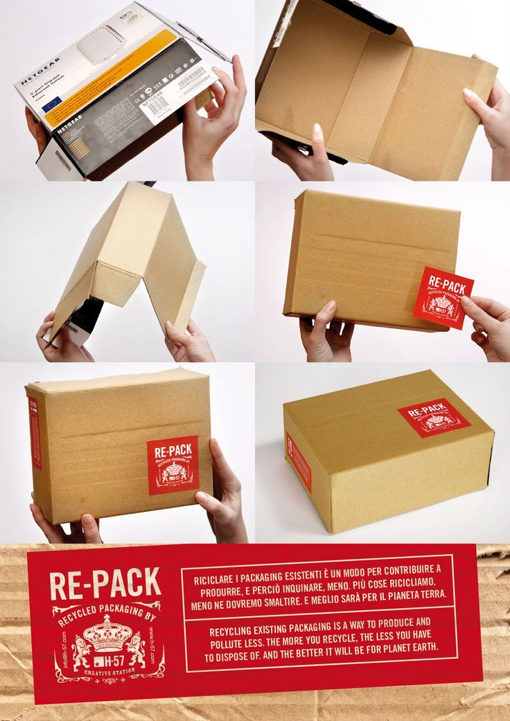 PACKAGING | UQAM: Re-Pack Project | H-57