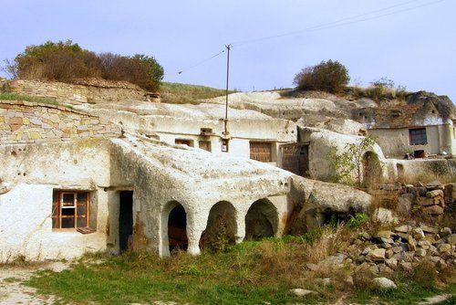 Cave dwellings near Eger