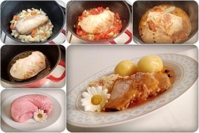 Rezept: Saftiger Kalbsbraten mit Kartoffelklöße in einer feinen Bratensauce Bild Nr. 92