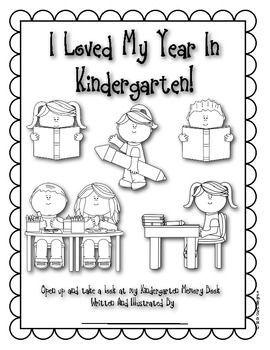 37 best Kindergarten memory book images on Pinterest