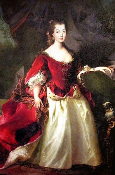 """Portrait of Princess Isabel Luisa Josefa of Braganza, Infanta of Portugal, Princess of Beira (1669-1690)"" by Giorgio Domenico Duprà (1690)"