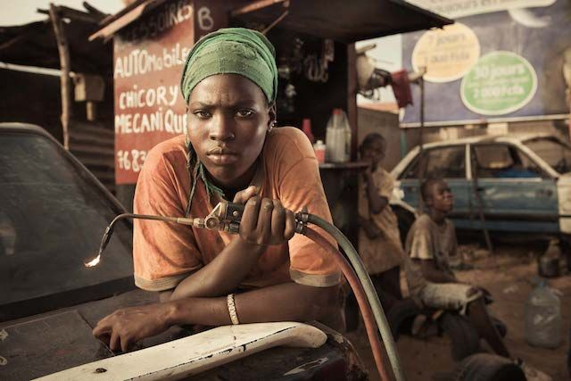 No Man's Job: Portraits of Senegal's Female Auto Mechanics. A photographic series by Anthony Kurtz