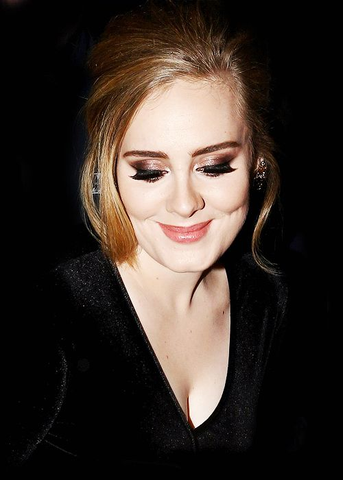 Adele in Milan, Italy 12/4/2015