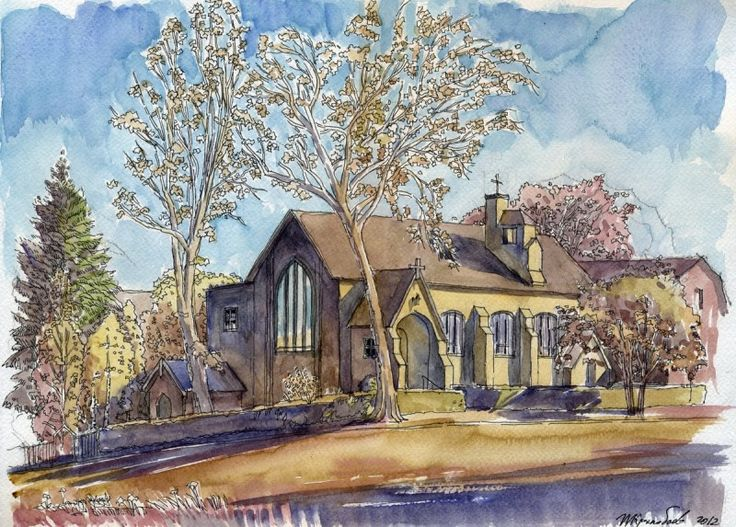 Казанская церковь в Ньюарке, Нью-Джерси, США. Автор: Иван Краснобаев