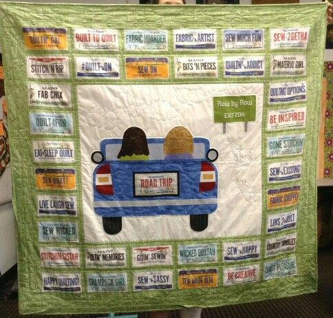 9 Best Stitch Studio Row By Row Images On Pinterest Licence Plates