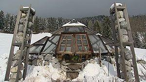 Glaspyramide (Bild: ORF)