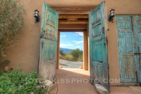 Doors in the Southwest are so pretty.