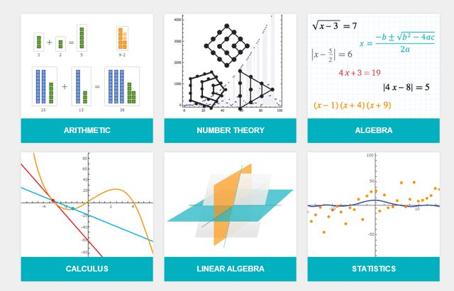 The Wolfram Problem Generator helps students solve practice problems with clear step-by-step directions. To use you need to have a Wolfram Alpha Pro account; try free trial before subscription. Pick from six main topics — arithmetic, number theory, algebra, calculus, linear algebra, and statistics. The topics follow Common Core Standards and can be customized according to the grade level. Lessons are available in varying difficulty levels for all ages…from elementary to college.