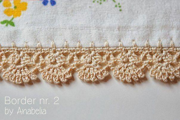 Resultado de imagen para puntillas para servilletas sencillas