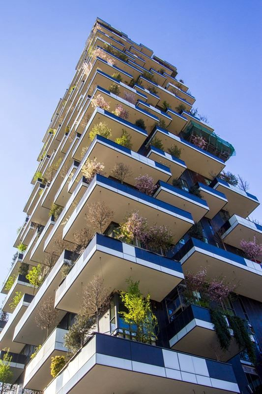 2no. residential towers - Bosco Verticale ('Vertical Forest') - Milan, Italy - Stefano Boeri - 2014