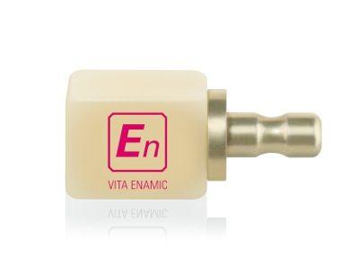 ¡Novedad! Bloque de Enamic, mezcla de polímero y cerámica, con gran resistencia a la carga, ideal para piezas posteriores