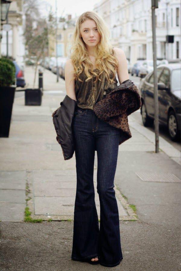 Fashion with style and attitude ®: Calça Flare