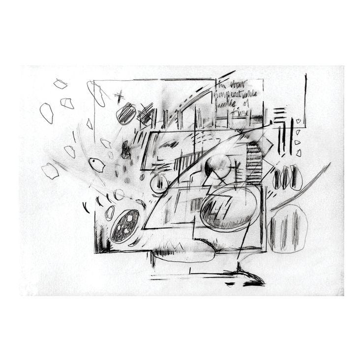 Penny Rimbaud Renaissance Drawing #1