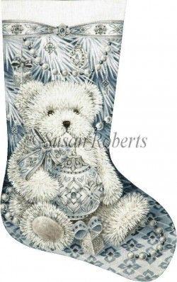 Snow Bear distributed by Susan Roberts Designs TTAXS363