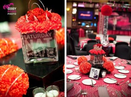 Love this Saturday Night Themed Event! Perfect for our special events rooms here at Andretti!