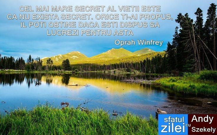citat despre vointa oprah winfrey