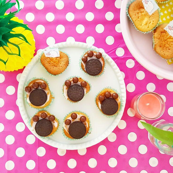 Confetti & Balloons Blog: Cupcakes Berenpoten