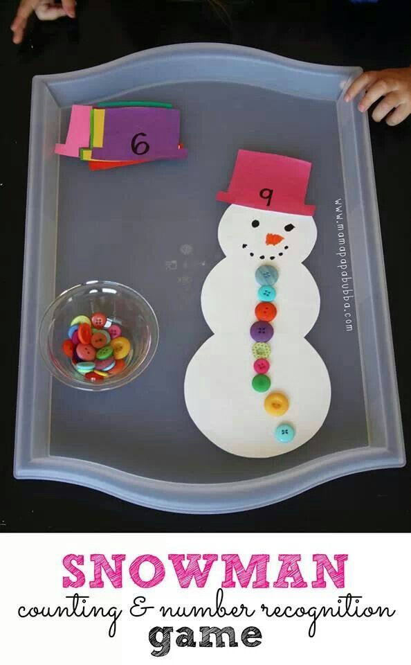Snowman Math Pre K Math Games For Kids Kindergarten