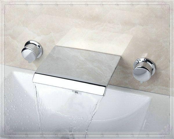 Купить товарДвойные ручки настенные ванная комната ванной кран раковина латунным смесителем FG512 в категории Смесители для умывальникана AliExpress.            &