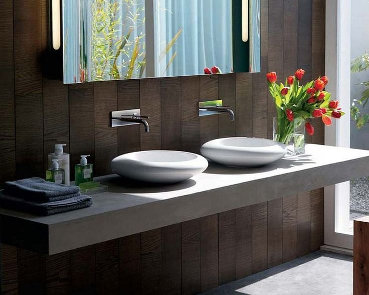 Best 25 lavamanos modernos ideas on pinterest tocadores - Lavamanos con mueble ...