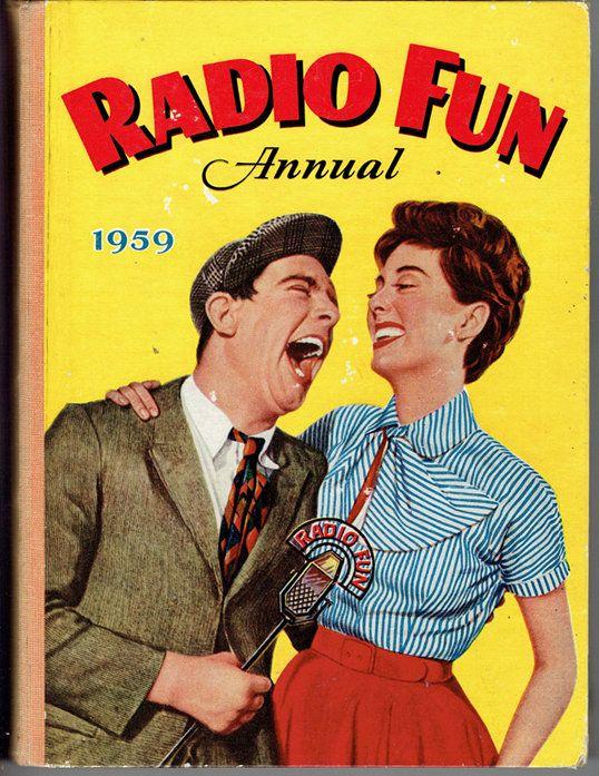 VINTAGE TREASURE - Radio Fun Annual 1959