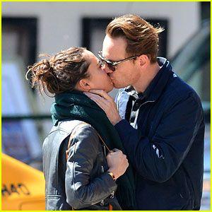 Michael Fassbender & Girlfriend Alicia Vikander Show Some Major PDA