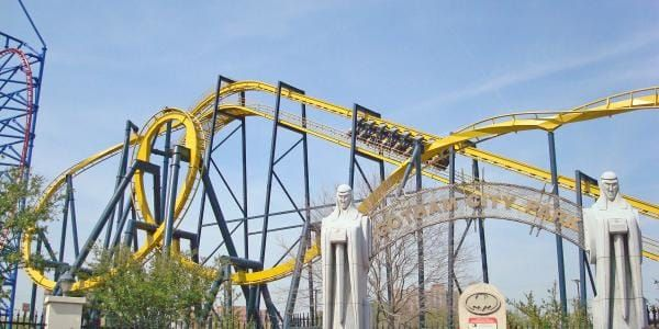 Batman The Ride Six Flags Over Texas Six Flags Hong Kong Travel Six Flags Over Texas