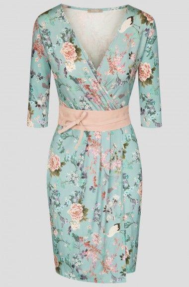 Kopertowa sukienka z paskiem | ORSAY