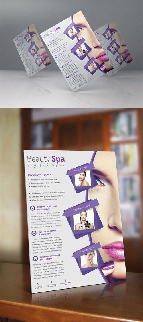 Beauty Spa Flyer 637071
