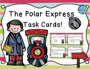 Polar Express:  Polar Express This task card activity is a great Literacy Center to use after the children have read The Polar Express by Chris Van Allsburg.TAKE A PREVIEW PEEK!The children can record their responses on the printable or in a reading response notebook.Included:16 Comprehension Task Cards1 Answer Sheet1 Teacher's edition answer sheet1 editable page to write your own questions!
