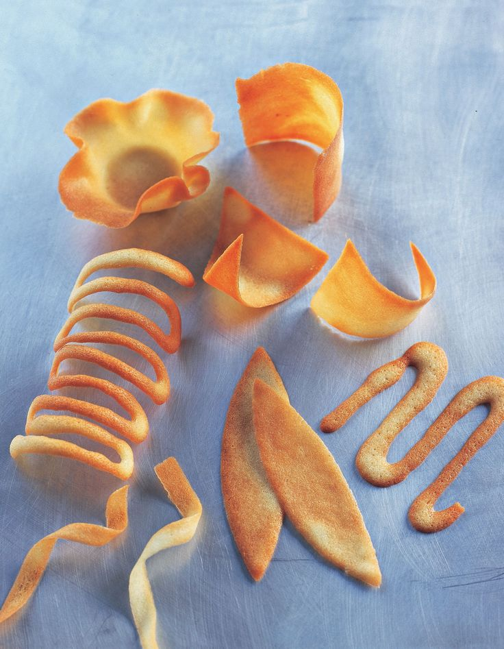 Tuiles recipe from Desserts by James Martin | Cooked