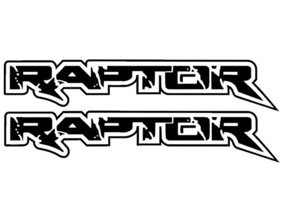 2x Ford Raptor F 150 Side Vinyl Graphics Decals Stickers White Black Bed Matte Gloss Silver Window Self Adhesive Yellow Green Metallic Red Vinyl Graphics Ford Raptor Car Sticker Design