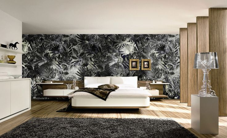 """""""Indian Soul"""" will bring a real dark jungle on your wall.  #Tecnografica #ItalianWallcoverings #wallpaper"""