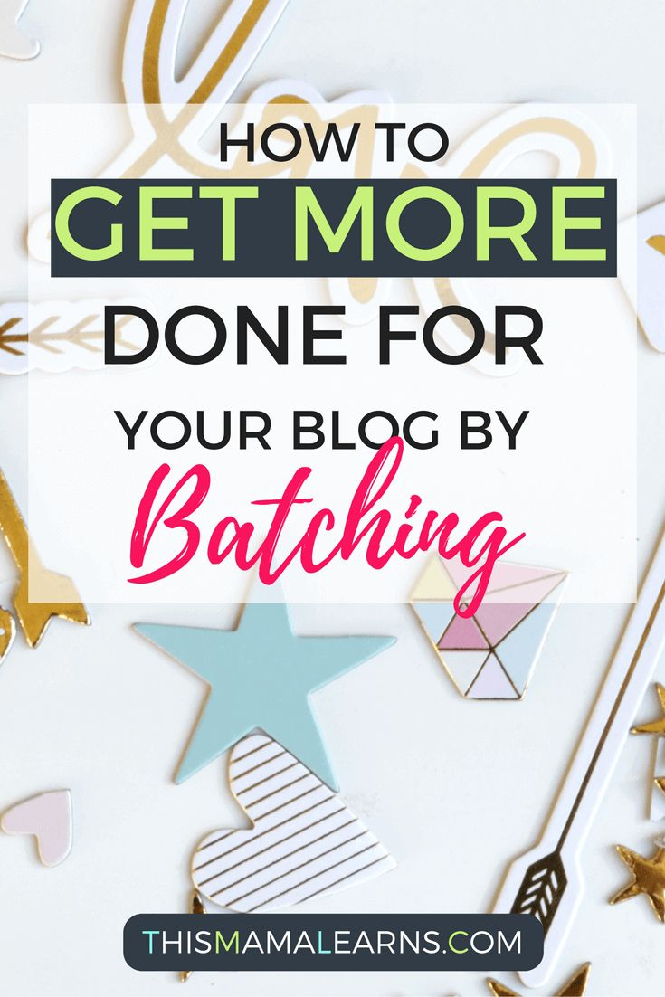 How to Get More Done by Batching Your Blog Posts | This Mama Learns (scheduled via http://www.tailwindapp.com?utm_source=pinterest&utm_medium=twpin&utm_content=post120883067&utm_campaign=scheduler_attribution)