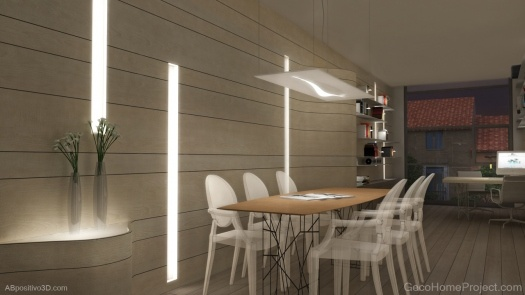 Render from 3D Video of Passive House in Valencia (Spain)