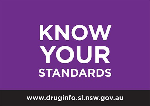 Know your standards - learn about standard drinks - drug info @ your library