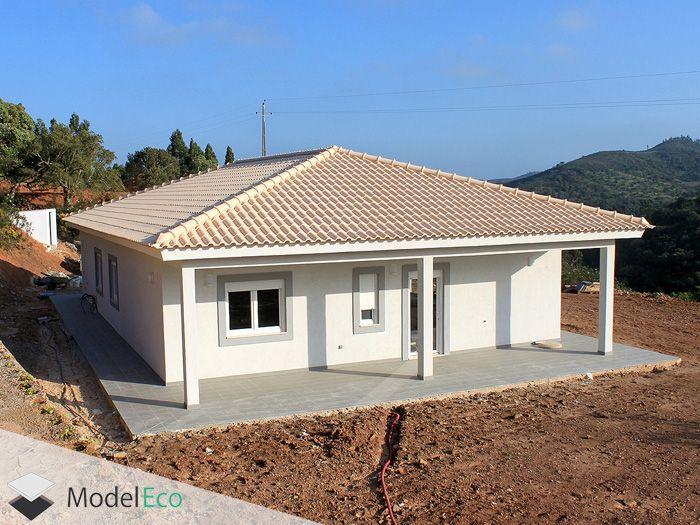 Utilização das placas Isolpro na construção de uma moradia unifamiliar.