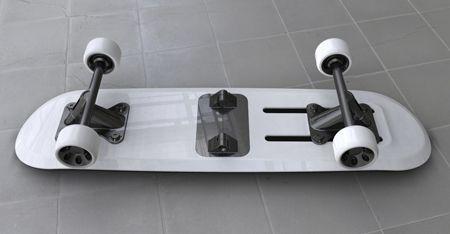 foldable skateboard concept