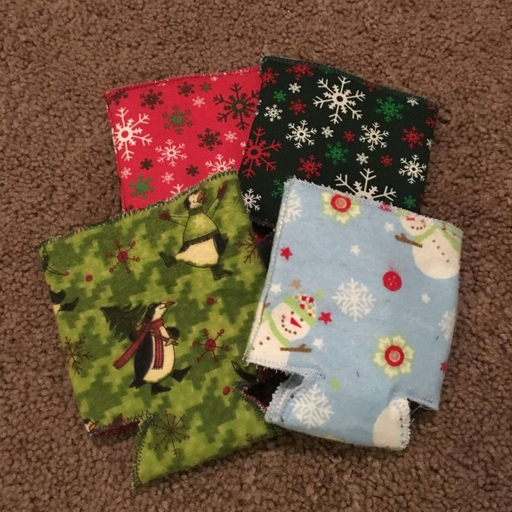 DIY Can Koozie Coozie Tutorial Pattern Easy Sewing Project Christmas Gift Homemade How To Etsy Mom's Bistro step-by-step susie's fabrics