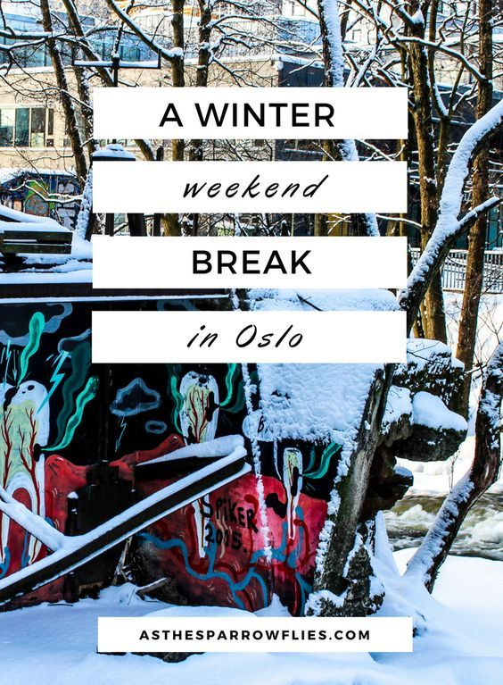 10 pictures that will make you want to book a winter weekend break in Oslo.