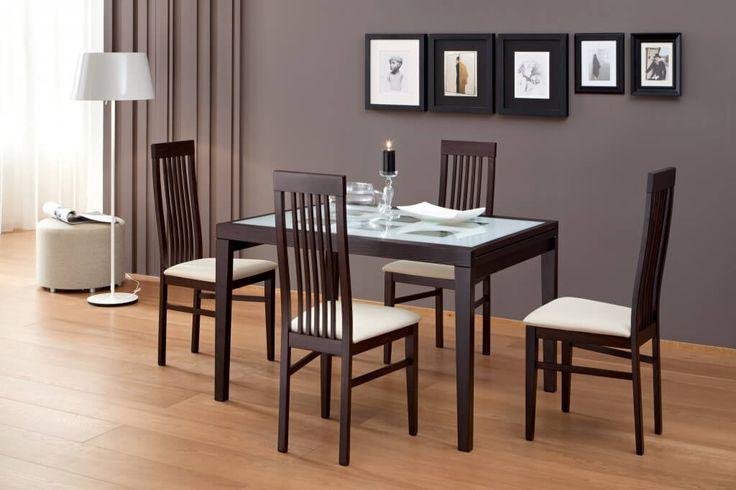 Set Meja Makan Minimalis Jepara C-1RV terbuat dari material kayu jati memiliki desain minimalis terdiri dari 4 kursi dan 1 meja yang menarik.