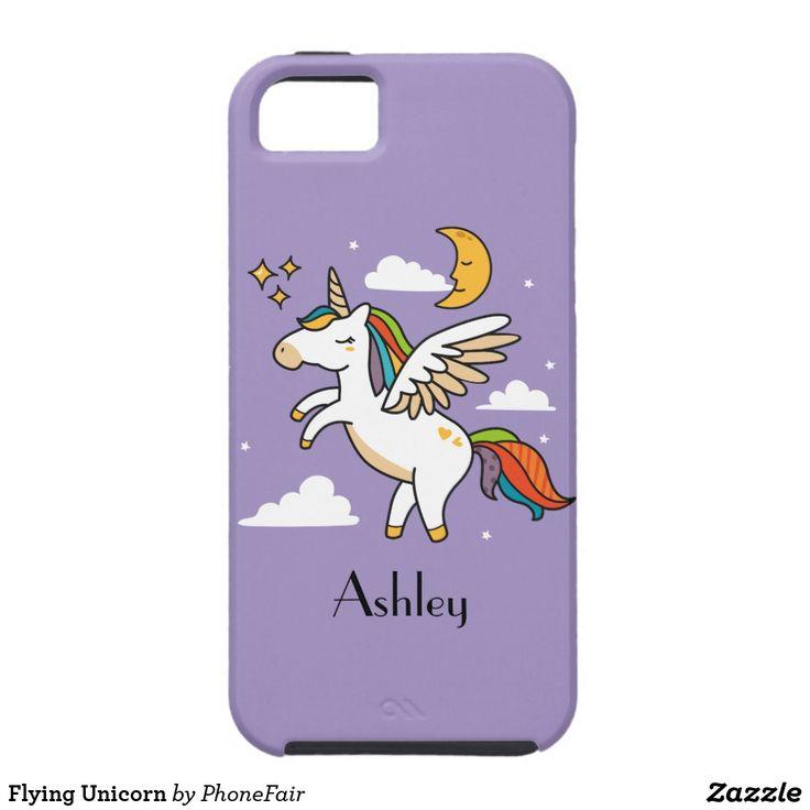Flying Unicorn iPhone SE/5/5s Case - personalize with your name #pegasus #pegasusunicorn